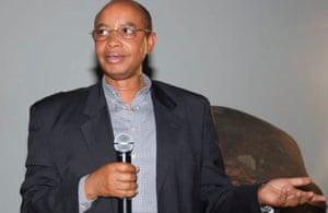 Patrick Karegeya in Kigali.