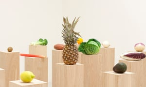 'Nature's impeccable sculpture' … detail of Fruits, Vegetables; Fruit and Vegetable Salad, by Darren Bader.
