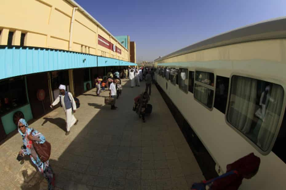 In a dilapidated, poverty-stricken country where some railway rolling stock is more than 40 years old, Sudan's sleek, sharp-nosed Nile train is an unusual sight.