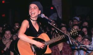 Ani DiFranco in concert in 1994
