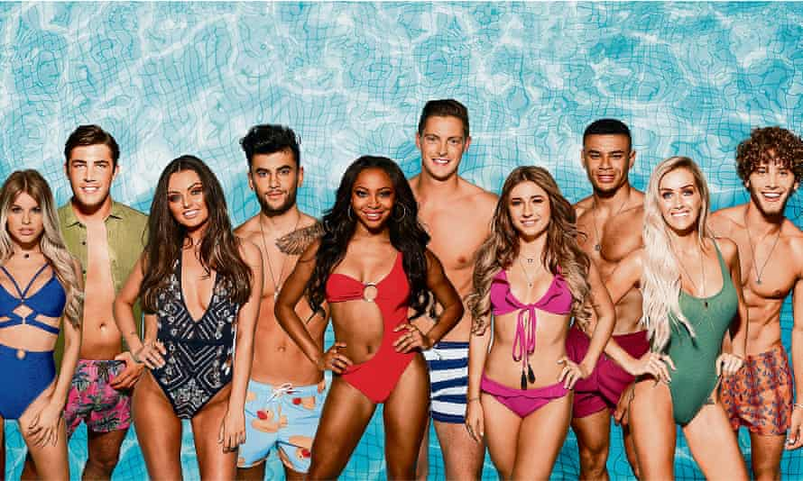 Contestants on ITV's Love Island in May 2018