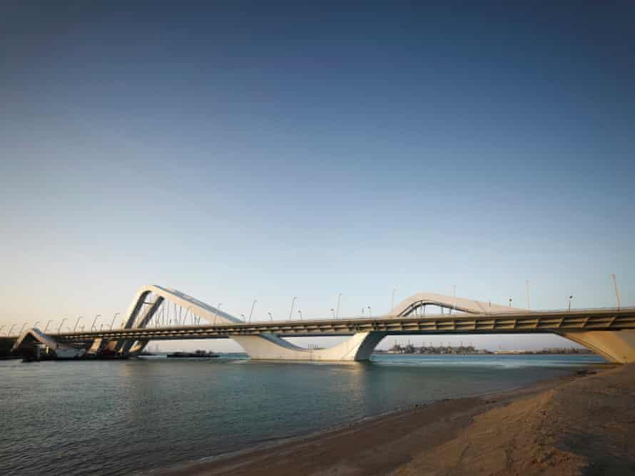 Sheikh Zayed Bridge, Abu Dhabi, United Emirates