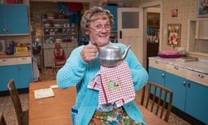 Antediluvian humour ... All Round to Mrs Brown's.