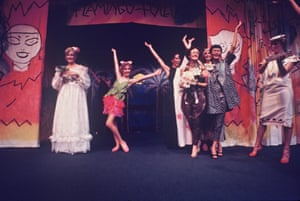 The 1975 Flamingo Follies at Bondi Pavilion.