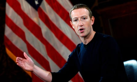 Mark Zuckerberg: 'Facebook shouldn't be the arbiter of truth of everything that people say online.'