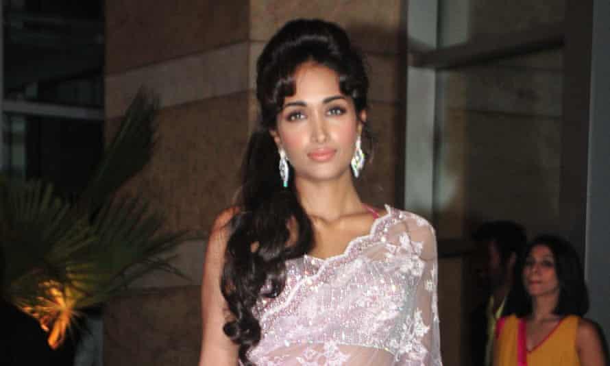 Mumbai sensation: Jiah Khan at the wedding of Bollywood couple Ritesh Deshmukh and Genelia D'Souza in 2012.