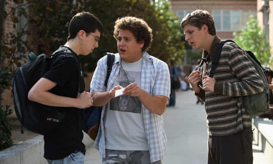 Super good: in 2007's Superbad with Christopher Mintz-Plasse and Michael Cera. In its opening weekend, it took $31.2m.
