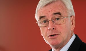 John McDonnell said austerity was a political choice, not a necessity.