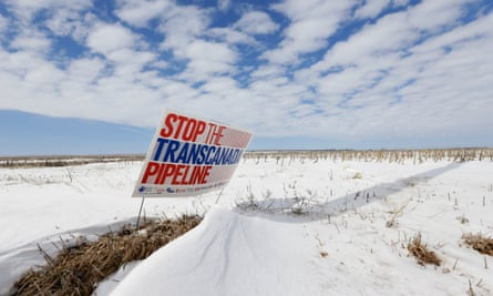 The judge ordered TransCanada, the company behind the project, to halt work on Keystone while the US government conducts a more thorough review of its impact.