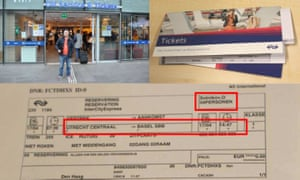 GRU close access cyber operation against OPCW Train tickets to Switzerland