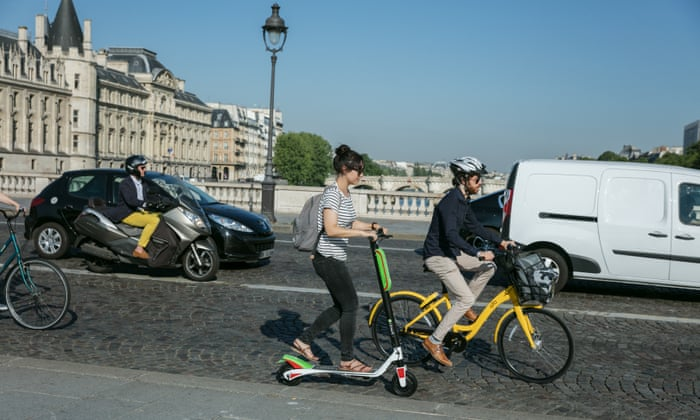 Scoot alors! Will Paris fall in love with the electric
