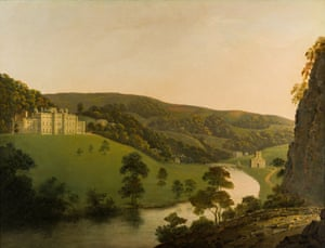 A View of Cromford Bridge by Joseph Wright of Derby, c.1795-96.