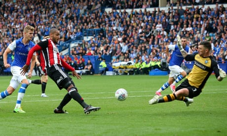 Leon Clarke double fires Sheffield United to derby victory over Wednesday