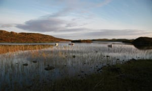 Loch Pottie seen from the Ross of Mull Bunkhouse, Isle of Mull