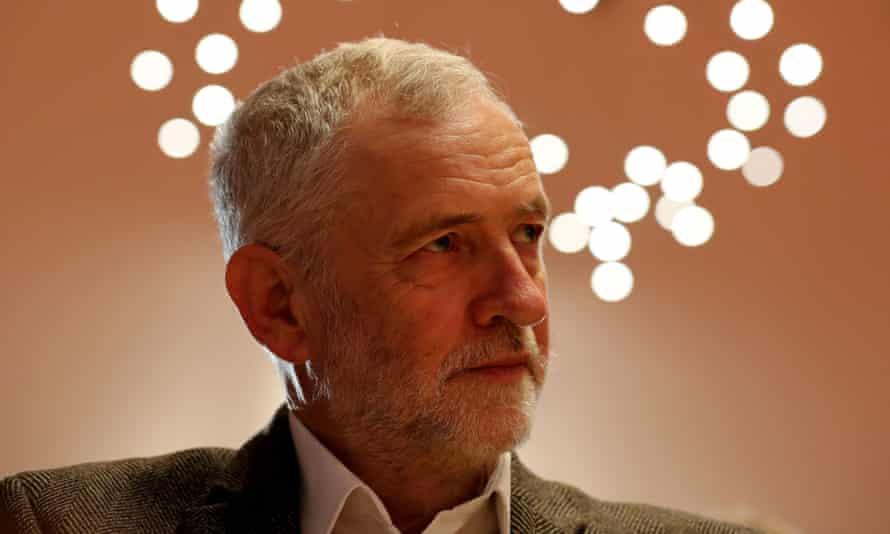 The Labour leader, Jeremy Corbyn