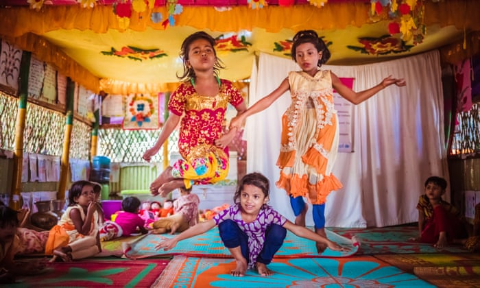 Local rhymes and puppet shows: how refugee children are learning through play