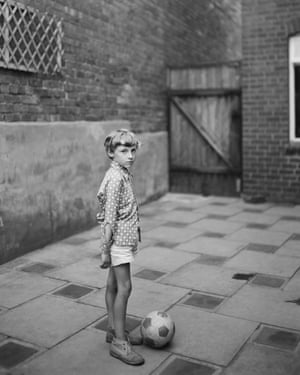 Young boy with ball, 1974. © John Myers courtesy RRB PhotoBooks. The Portraits by John Myers is published by RRB PhotoBooks this month. rrbphotobooks.com