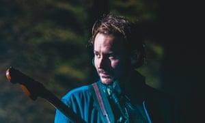 Ben Howard performing at Brixton Academy.