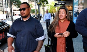 Cyrus Taniela's parents, Jason and Wendy. A tribunal found their son had been discriminated against when his school threatened to expel him for having long hair