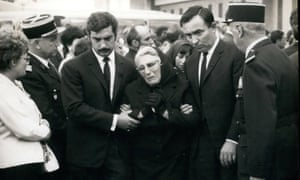 A funeral for one of the victims of the AF1611 air crash.