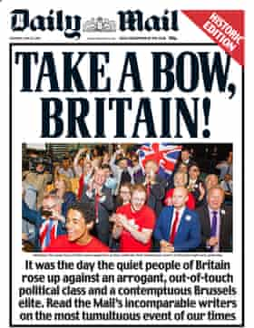 Daily Mail, Saturday 25 June