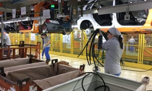 EU car manufacturers would pay a theoretical £3.9bn in tariffs.