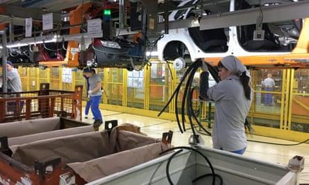 EU car manufacturers would pay a theoretical £3.9bn in tariffs.