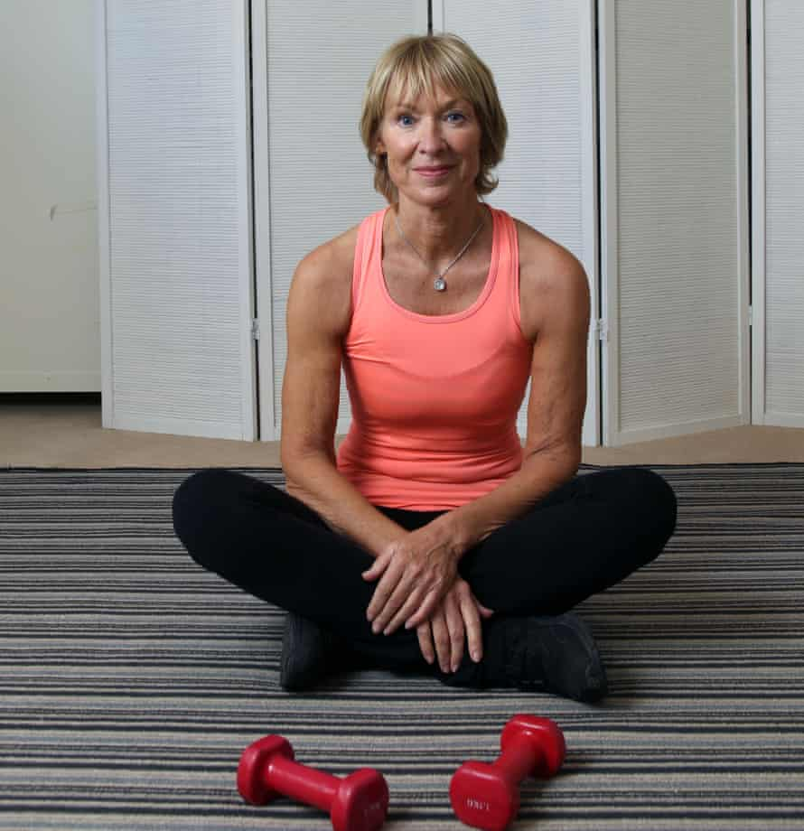 Claire La Terriere, who runs fitness retreats for older people.