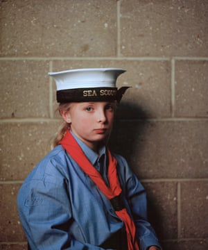 A young sea scout