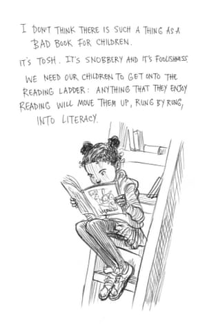 Page five of Neil Gaiman and Chris Riddell's book Art Matters. ART MATTERS by Neil Gaiman, illustrated by Chris Riddell is published by Headline on 6th September