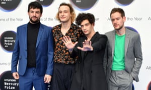 The 1975 … On the red carpet