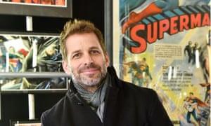 Not so super … Zack Snyder.
