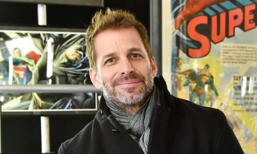 Polarising? ... Army of the Dead director Zack Snyder.