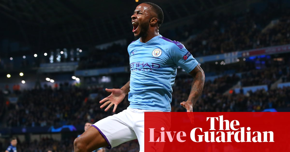 Manchester City 5-1 Atalanta: Champions League Group C – as it happened | Football | The Guardian