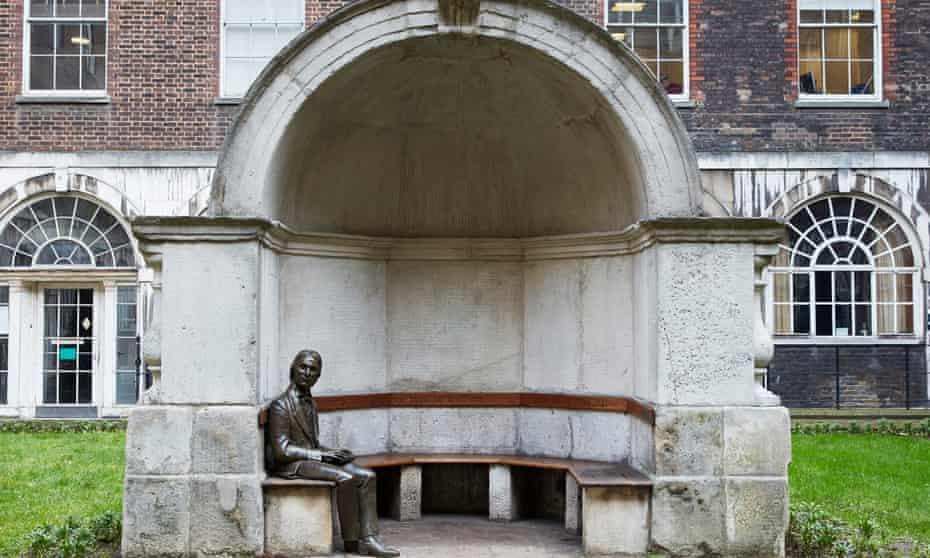 Guy's Hospital John Keats (1795–1821), 2007, Stuart Williamson (b.1948), Guy's Campus, Guy's and St Thomas' Charity