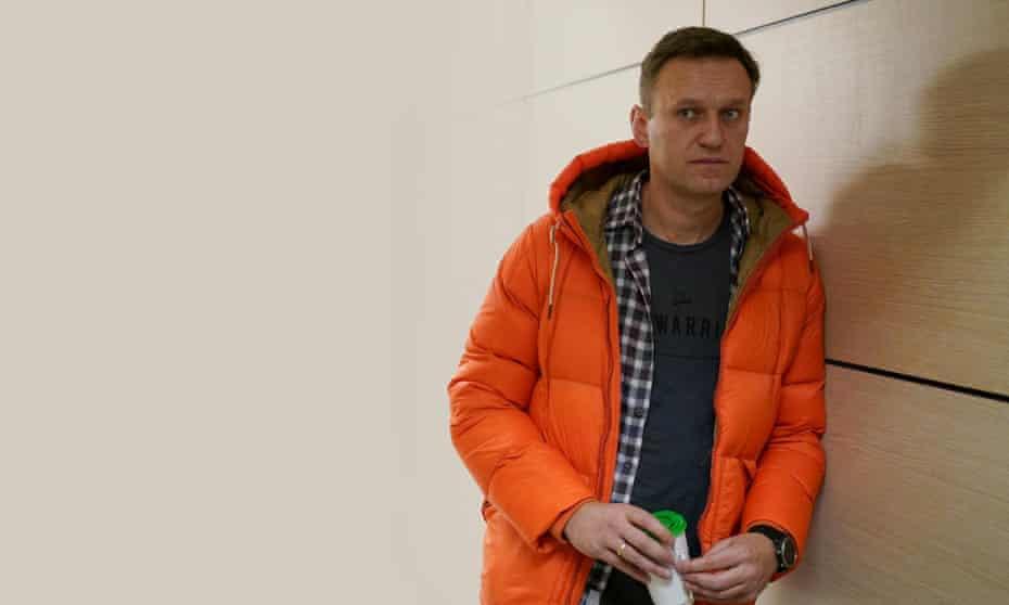 Alexei Navalny in The Man Putin Couldn't Kill.