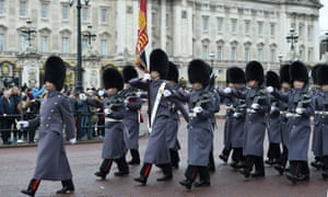 Soldiers from the Coldstream Guards