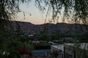 A neighborhood in Paradise Valley, Arizona.