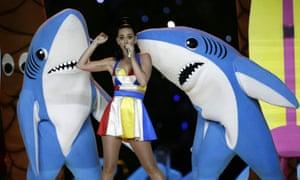 Katy Perry at 2015 Super Bowl