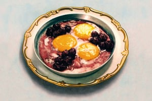 Jam and eggs: for much of Soviet rule, people treated fresh eggs with suspicion.