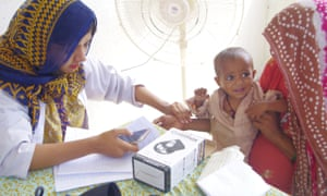 Sehat Kahani Dermatology Camp in Ghaghar Phattak with Engro (1)