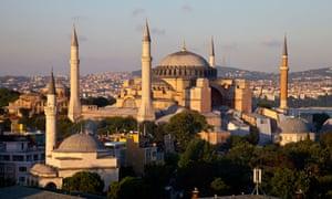 Ayasofya has been an Istanbul landmark for hundreds of years