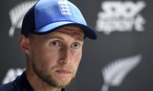 England captain Joe Root answers questions following his team's defeat to New Zealand.