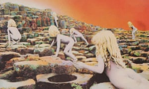 Detail from the cover of Led Zeppelin's Houses of the Holy.