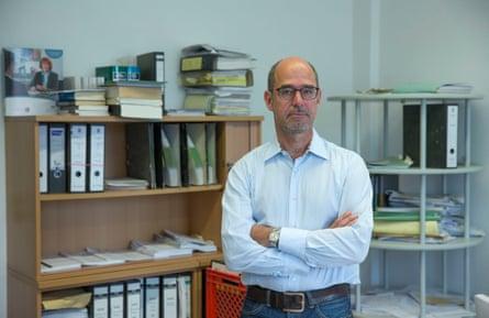 Peter Holzwarth, Stuttgart's chief prosecutor