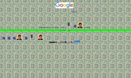 How Google looks when put through the Geocitiesizer.