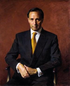 The Hon. Paul John Keating, 1997. Robert Hannaford (born 1944)