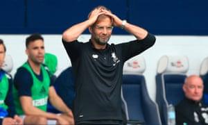 Jürgen Klopp's Liverpool: kings of blowing two goal leads.