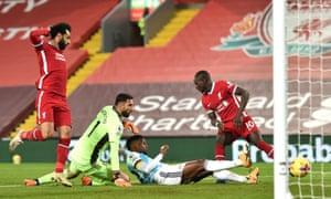Wolverhampton Wanderers' Nelson Semedo scores an own goal.