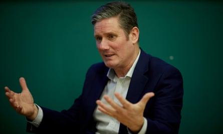 Labour leadership contender Sir Keir Starmer.